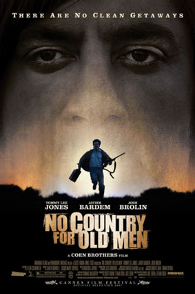 No country for old man, locandina