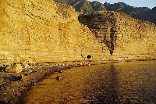 La spiaggia di Pollara,
