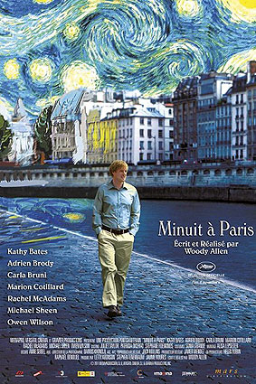 ''Midnight in Paris'' locandina