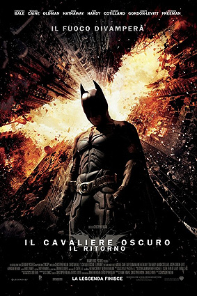 ''The Dark Knight Rises'' locandina