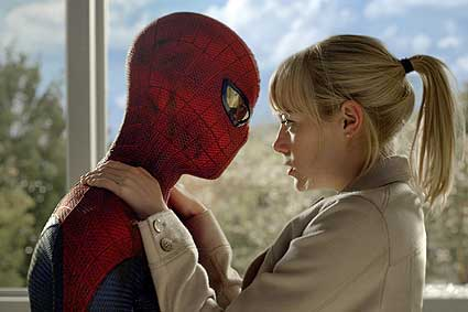 ''The amazing Spider-man''
