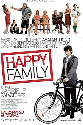 ''Happy family'' locandina